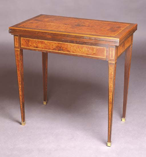 A VICTORIAN ROSEWOOD AND AMBOY