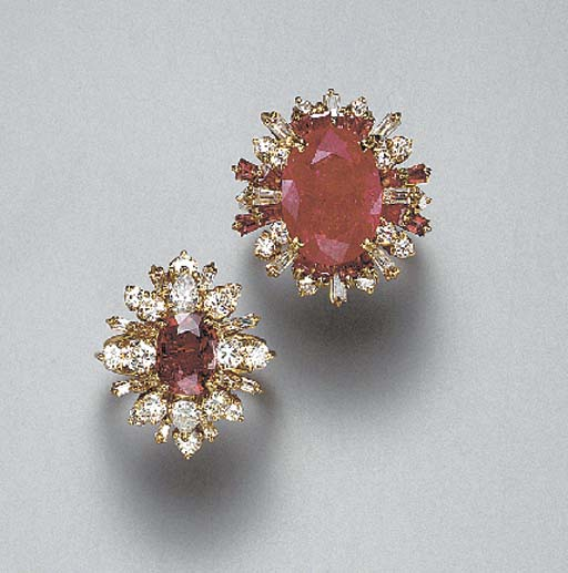 A GROUP OF TWELVE RUBY AND DIAMOND RINGS