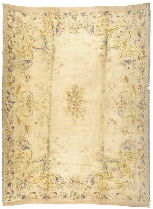 A FRENCH SAVONNERIE CARPET,