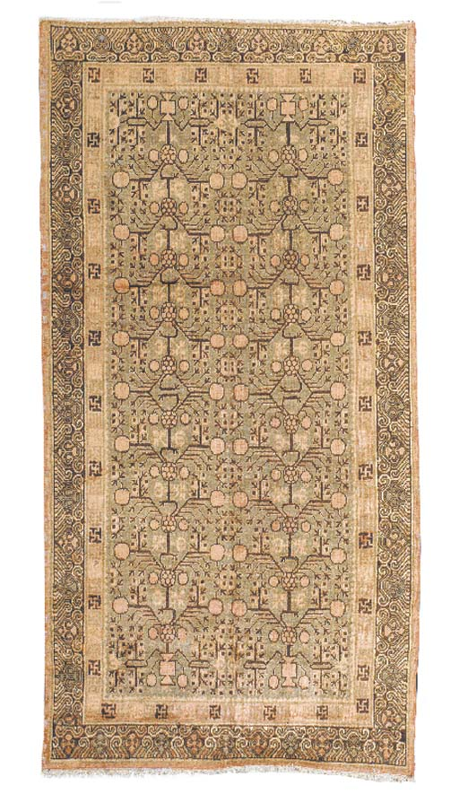 EAST TURKESTAN RUG,