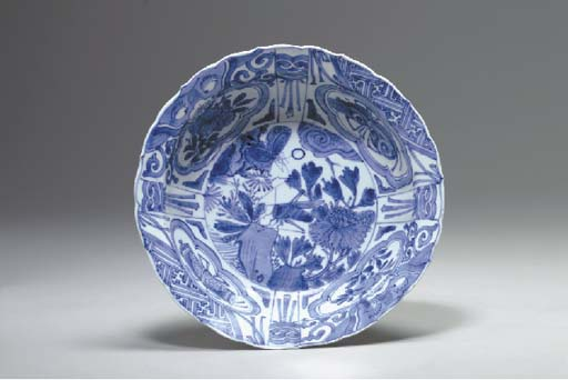 A Blue and White 'Kraak' Bowl,