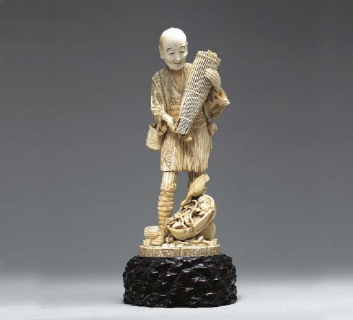 **An Ivory Model of a Cormoran