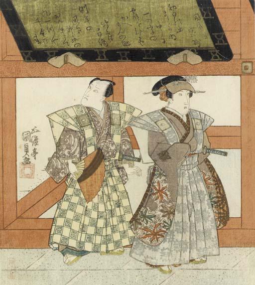Utagawa Kunisada (1786-1865) A
