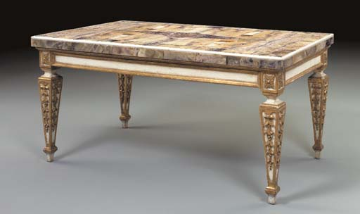 AN ITALIAN NEOCLASSIC STYLE WH