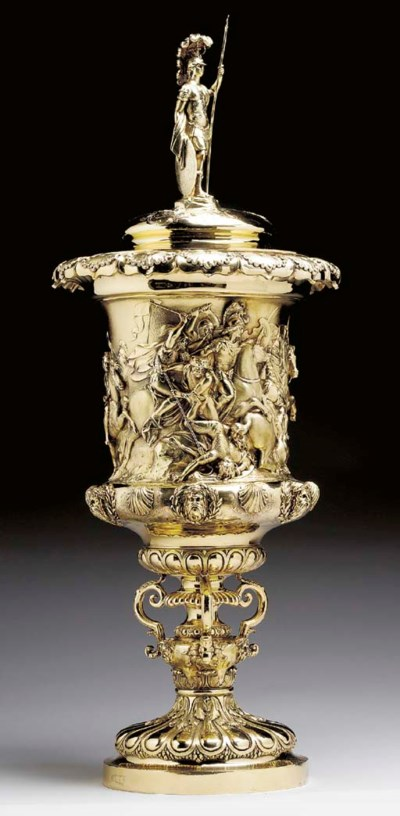 A WILLIAM IV SILVER-GILT CUP A