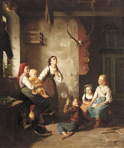 Auguste Heyn (German, 1837-192