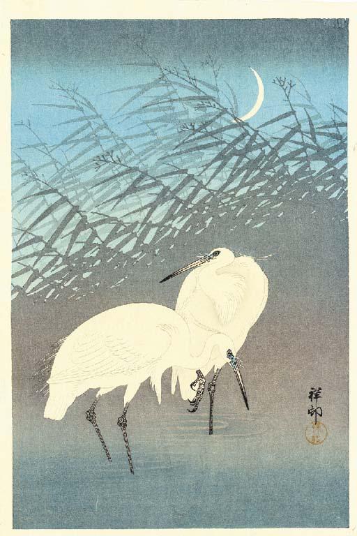 Ohara Koson (1877-1945) Biho (