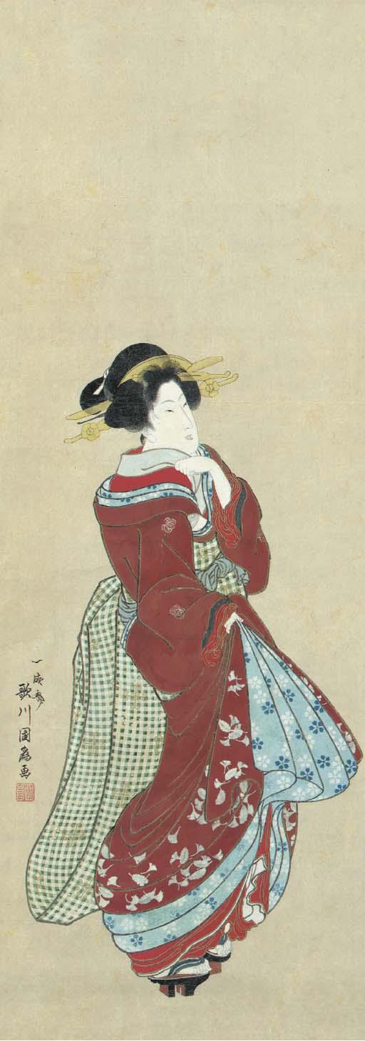 Utagawa Kunitame (act. ca. 181
