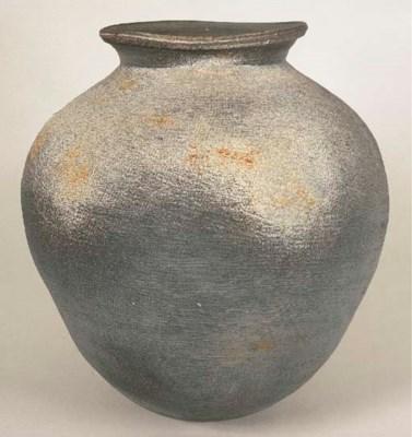 A Stoneware Jar