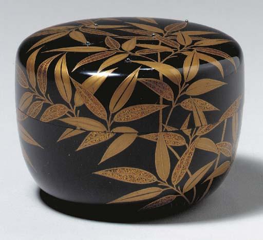 A Lacquer Tea Caddy (Natsume)