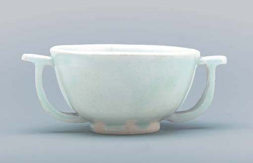 A White Porcelain Cup with Han