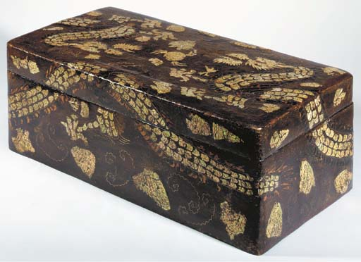 An Inlaid Lacquer Storage Box