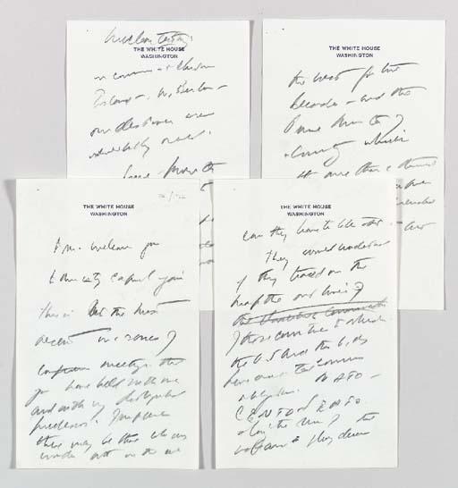 KENNEDY, John F. Autograph man
