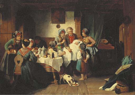 Wilhelm Amberg (German, 1822-1