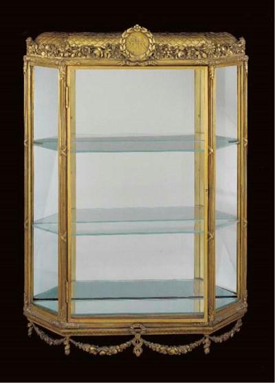 A Louis XVI style ormolu hangi