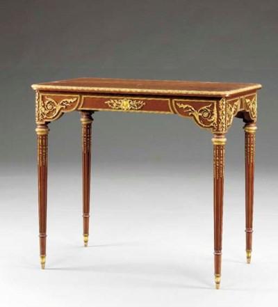Louis XVI style ormolu-mounted