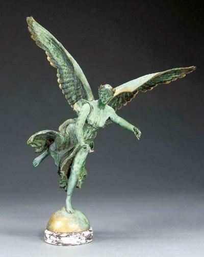 A French bronze figure of La R