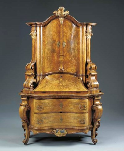 A GERMAN ROCOCO STYLE PARCEL-G