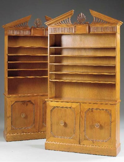 A PAIR OF GEORGE II STYLE PINE