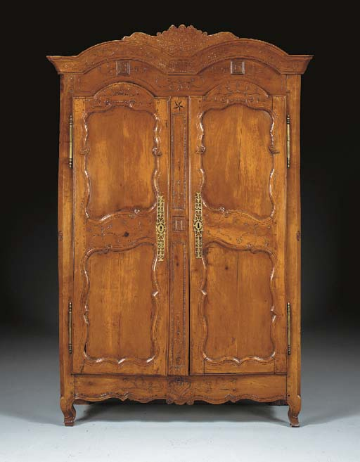 A FRENCH PROVINCIAL CHERRY AND