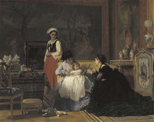 Charles Baugniet (Belgian, 181