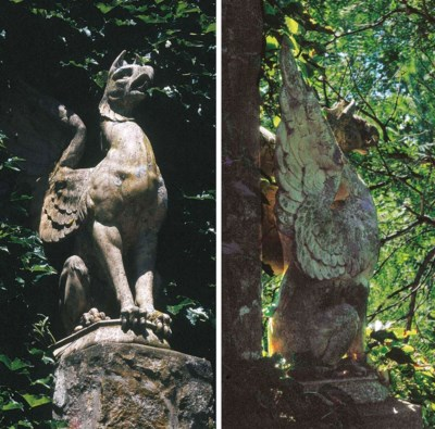 A pair of Continental stonewar