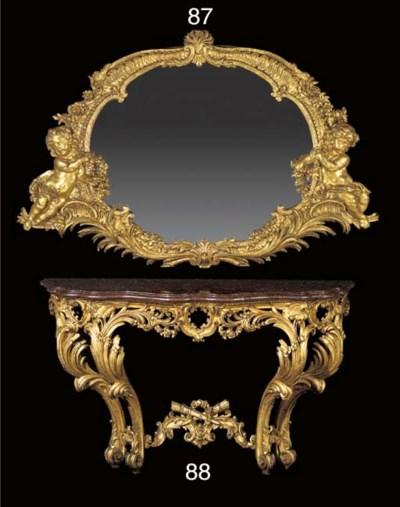 A Continental Rococo style gil