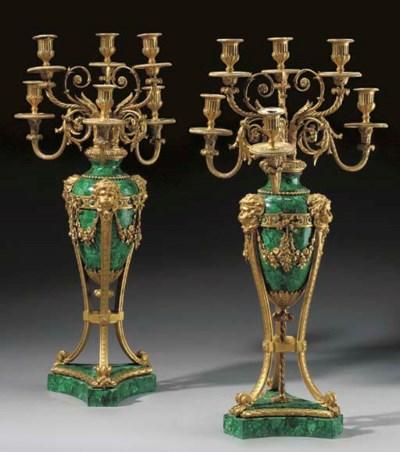 A pair of Louis XVI style ormo