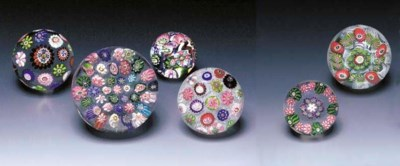 SIX CLICHY MILLEFIORI WEIGHTS