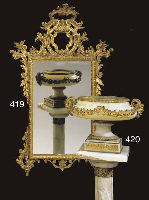 An Italian Rococo style giltwo