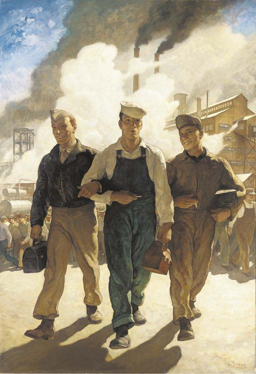 Newell Convers Wyeth (1882-1945)