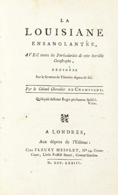 CHAMPIGNY, Colonel Chevalier d