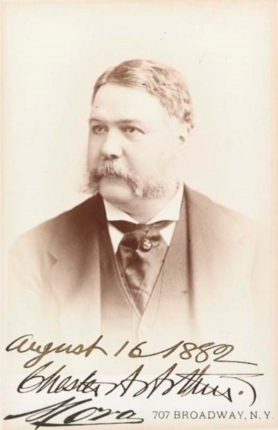 ARTHUR, Chester A. (1881-1885)