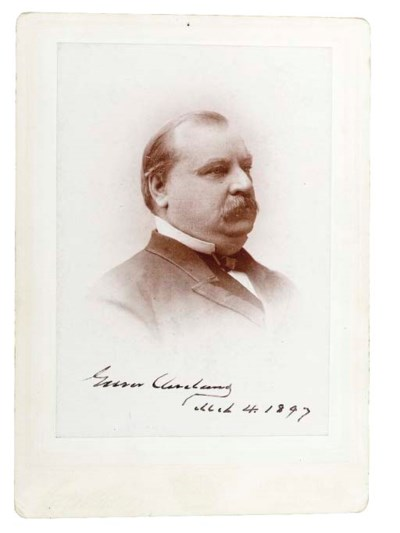 CLEVELAND, Grover (1837-1908),