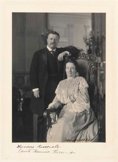 ROOSEVELT, Theodore and Edith