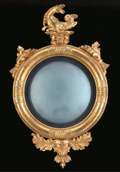 A GEORGE IV GILTWOOD AND EBONI