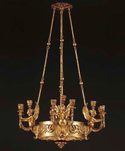 A CONTINENTAL LACQUERED-BRONZE