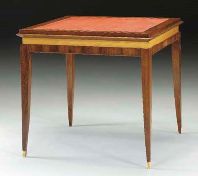 A FRENCH ROSEWOOD, BIRCH AND I