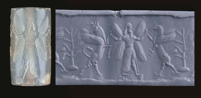 A NEO-BABYLONIAN GRAY CHALCEDO