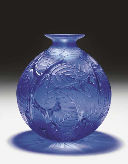 'MILAN', A FROSTED BLUE GLASS