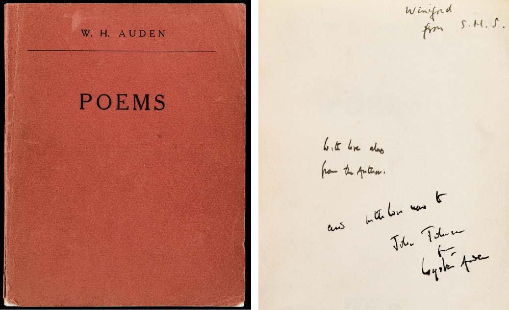 AUDEN, Wystan Hugh (1907-1973)