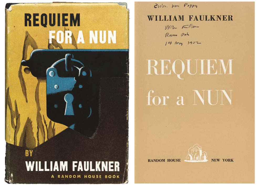 FAULKNER, William. Requiem for