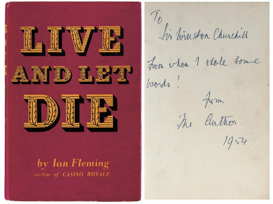 FLEMING, Ian. Live and Let Die