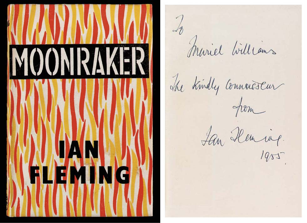 FLEMING, Ian. Moonraker. Londo