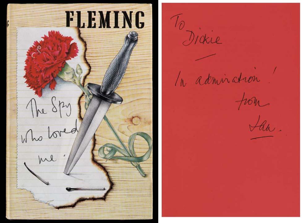 FLEMING, Ian. The Spy Who Love