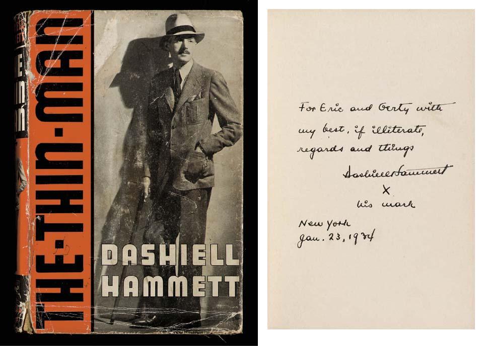 HAMMETT, Dashiell. The Thin Ma