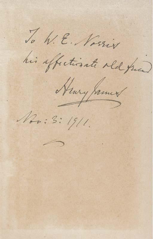 JAMES, Henry. The Outcry. Lond