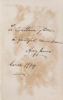 JAMES, Henry. Notes of a Son a