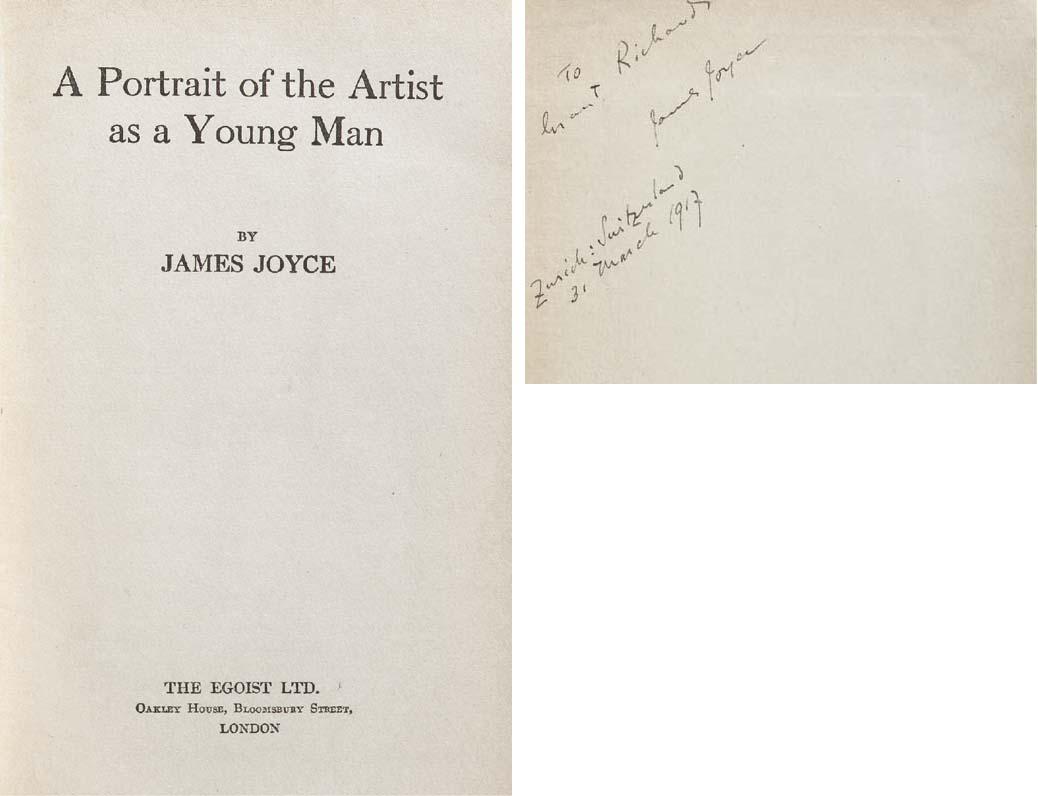 JOYCE, James. A Portrait of th