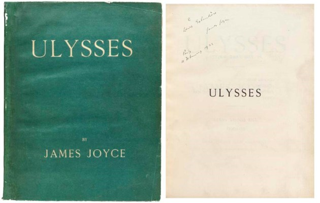JOYCE, James. Ulysses. Paris:
